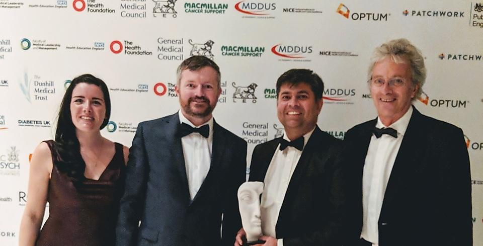 Epilepsy monitoring app team wins second BMJ Award